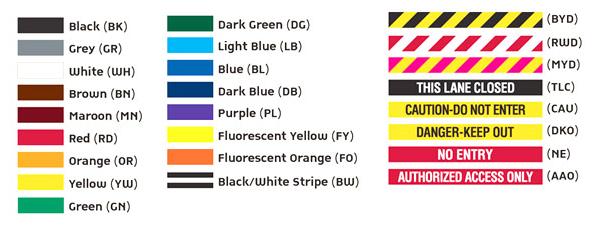 visiontron retractable belt color options