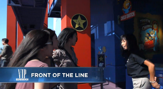 Universal Studios VIP Line-Cutting privileges