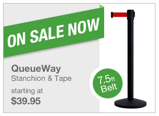 QueueWay Stanchion Sale