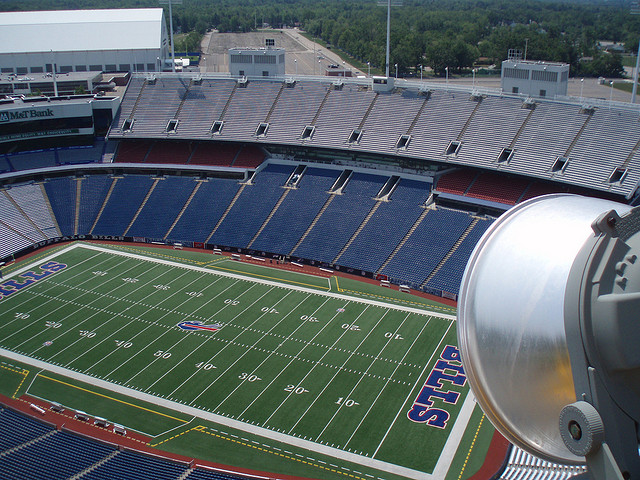 Ralph Wilson Stadium When Empty